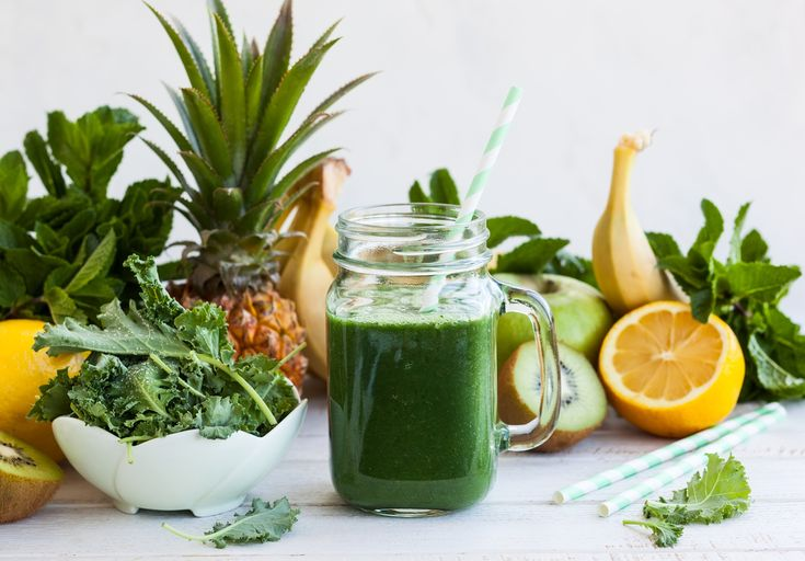 A morning green smoothie for breakfast sets the tone for a super healthy day. If you've ever experienced constipation, pain in your intestines, low e