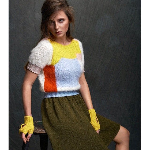 #theknitkidforricodesign  Photographer @studio_neoncolour Model @jaqlove Hair and Make up @sutidavestewig . #theknitkid #ricodesign #handknitting #knittingpattern #knittingpatterns #knit #knits #knitwear #yarn  #knitweardesign #knitting #fashionknitwear #fashionknit #knitfashion #knitdesign #fashiondesign #fashion #collaboration #bigknit #sweater #colorful  #mittens #yellow #aw15 #aw1516 #wool #intarsia #instaknit #instaknitting