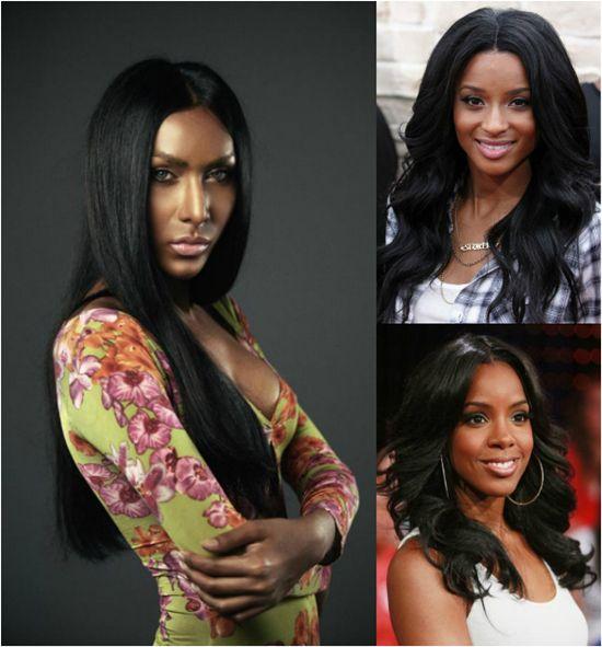 53 Best Black Hair Extensions Images On Pinterest Black Hair