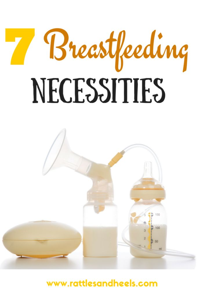 7 Breastfeeding Necessities to purchase during your pregnancy or after giving birth to newborn - Rattles & Heels