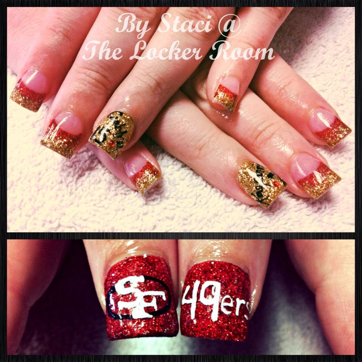 49ers nails