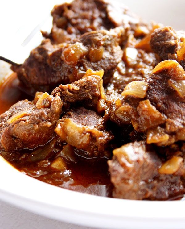 Beef Goulash - This very fragrant recipe can be served with potatoes and green salad or pasta | eatwell101.com