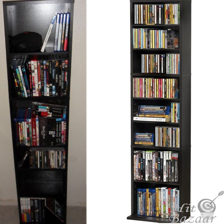 media storage cabinet cd shelf dvd tower rack stand holder multimedia organizer - Dvd Storage Cabinet