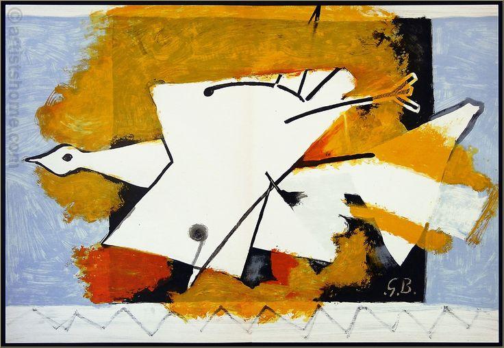 Georges Braque, 1959: Derriere le miroir n° 115 avec 9 ...