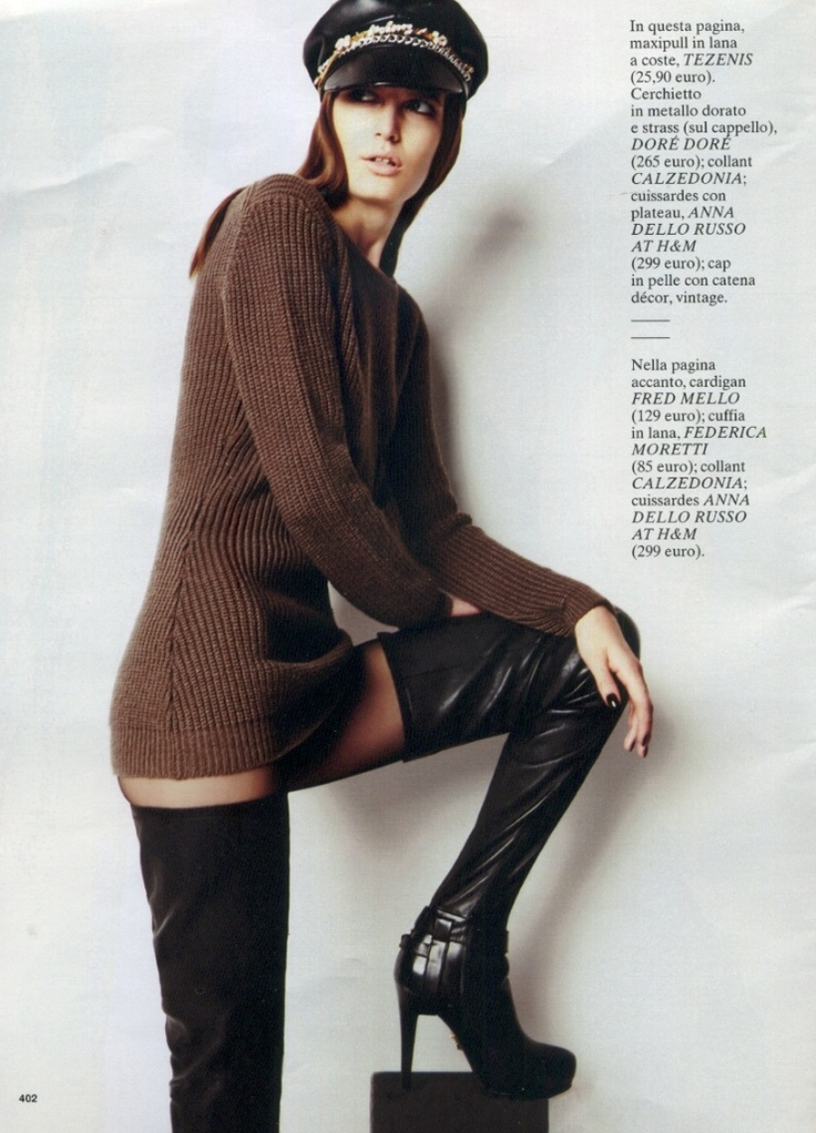Our jersey on Glamour Italia