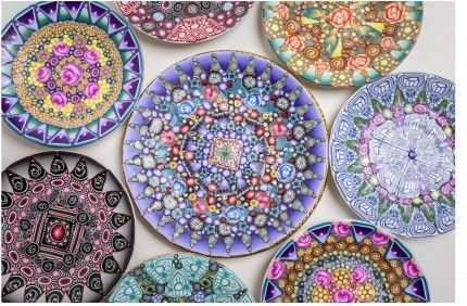 The Daily Polymer Arts Blog  » Plethora of Patterned Plates