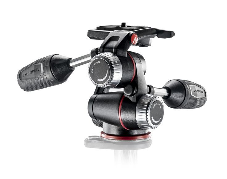 #Manfrotto X-PRO 3-Way #Head with retractable levers & friction controls
