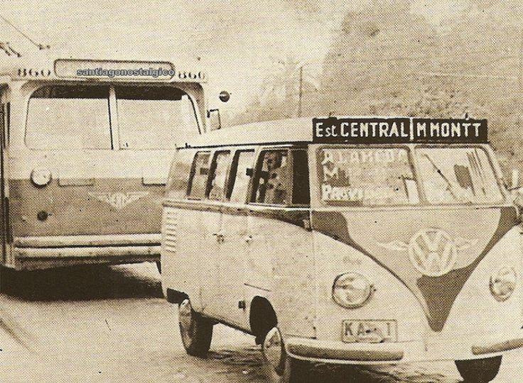 Recorrido Estacion Central Manuel Montt