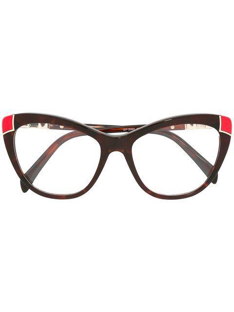 e6864cc8338d EMILIO PUCCI butterfly frame glasses.  emiliopucci