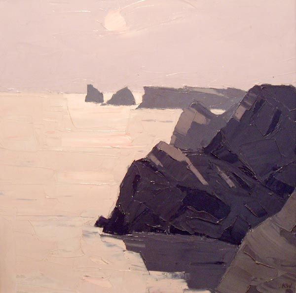 Sir Kyffin Williams:  Gower Coast
