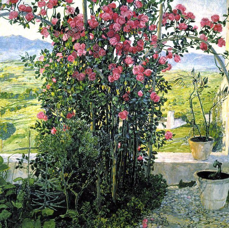 Александр Головин (1863-1930) Умбрийская долина