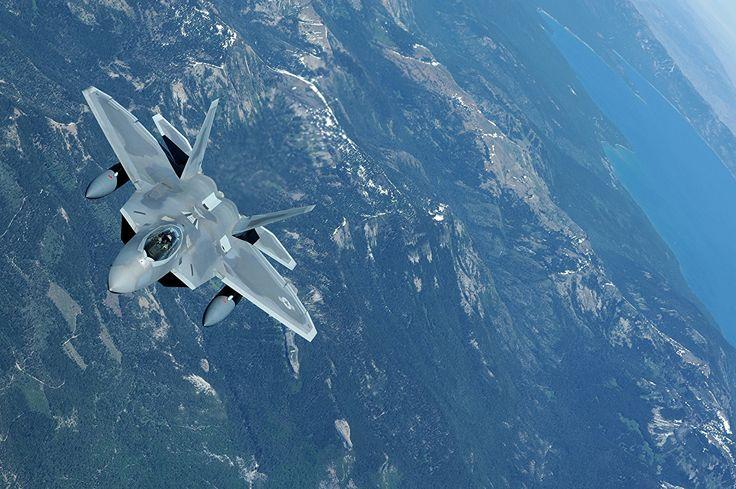 military Airplane War F Raptor Wallpapers HD Desktop and