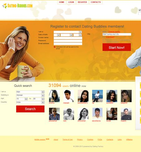Start a dating website business