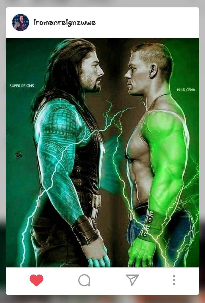 Roman vs Cena