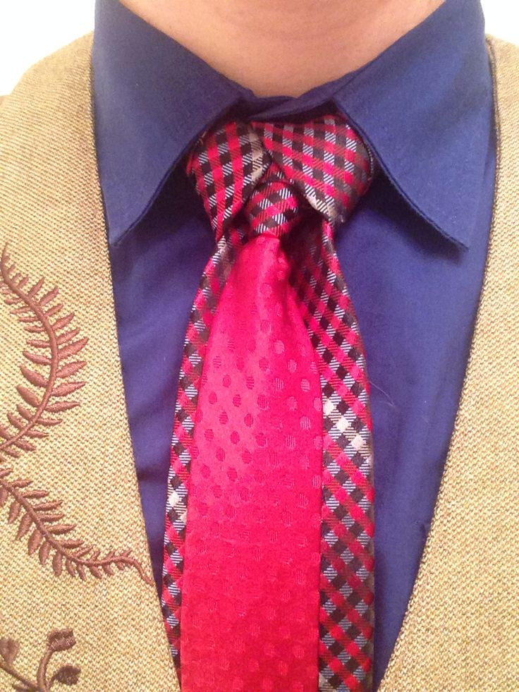 40 best cool necktie knots images on pinterest necktie knots the merovingian knot aka the ediety knot this contrasting tie was under 10 at ccuart Image collections