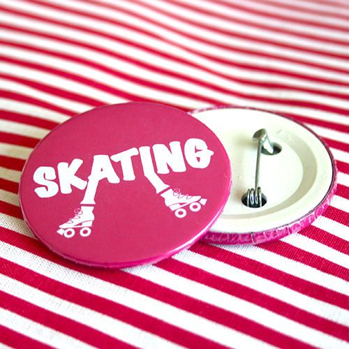 Bottom: Patins skating rosa 3,5cm - R$2,00   4,5cm - R$3,00 Skating botton useheti.tanlup.com