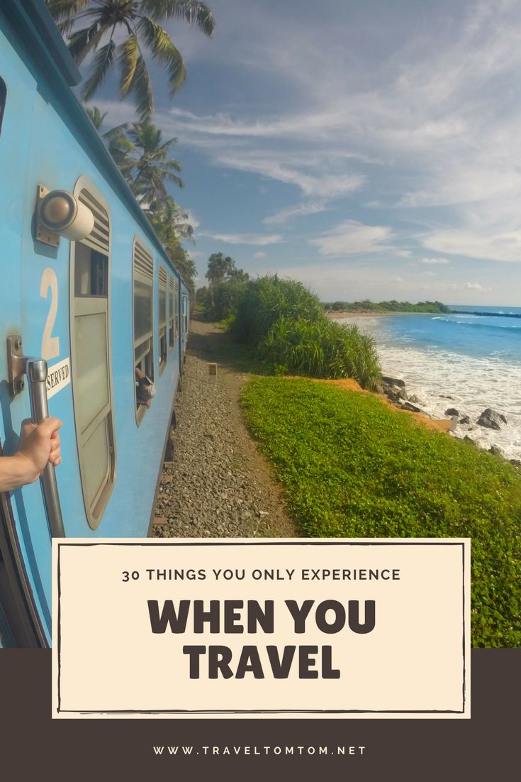These 30 amazing things I only experienced because I traveled the world. Staying in you comfort zone will not make any memories. Get out there, try to explore the world as much as you can, make new friends and see this list of incredible memories I made on the road. Thank you for sharing!