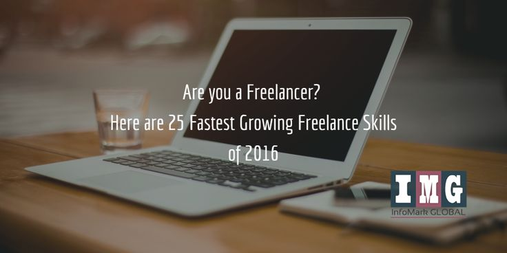 Are you a #Freelancer? Here are 25 #Fastest #Growing Freelance #Skills of 2016 http://bit.ly/2cvvufr  #IMG #WEBDESIGN