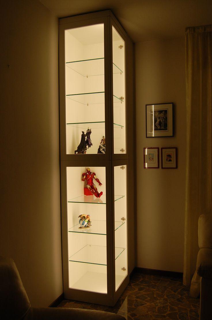 corner furniture with led light .
