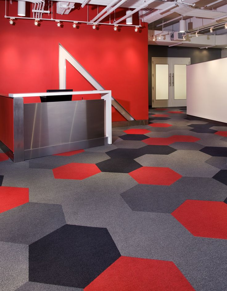 Hexagon Brings Another Element To The Design Of A Space It Looks Superb In This New York Office
