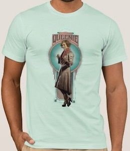 Fantastic Beasts Queenie Goldstein T-Shirt - http://www.thlog.com/fantastic-beasts-queenie-goldstein-t-shirt/