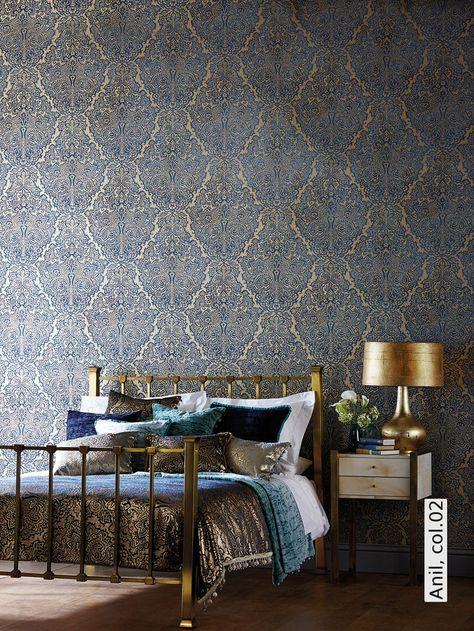 Die besten 25+ Orientalische tapeten Ideen auf Pinterest - wohnzimmer tapete modern