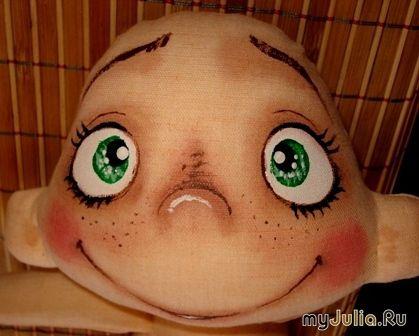 МК от БРЕЛЕНА - рисуем мордашки куклам. Обсуждение на LiveInternet - Российский Сервис Онлайн-Дневников