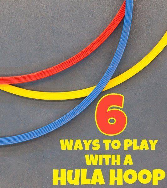 hula hoop relay instructions