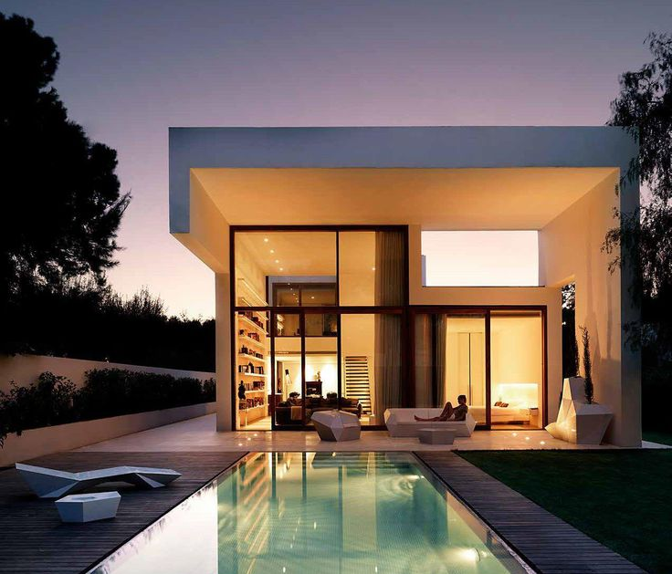 House in rocafort is a modern property with unique geometry which has been designed by ramon esteve studio and located in valencia spain