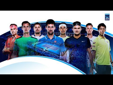 2015 Barclays ATP World Tour Finals - The Top Eight inc Djokovic, Federe...