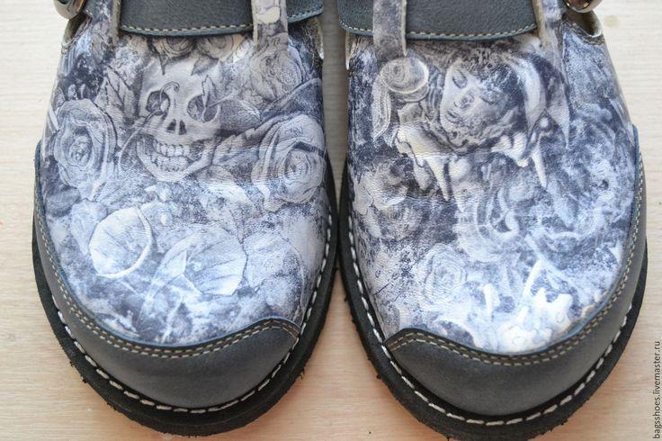 """Купить мокасины """"Ангелы и демоны"""" - мокасины женские, обувь женская, туфли женские, удобная обувь"""