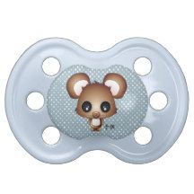 Kobe the bear BooginHead pacifier