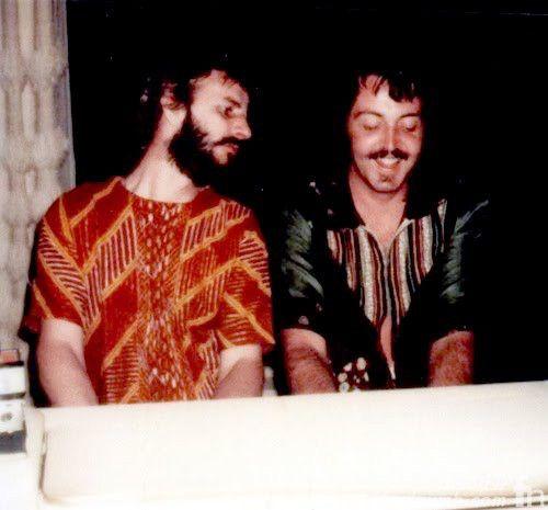 Paul McCartney & Ringo Starr John Lennon Lost Weekend Last ...