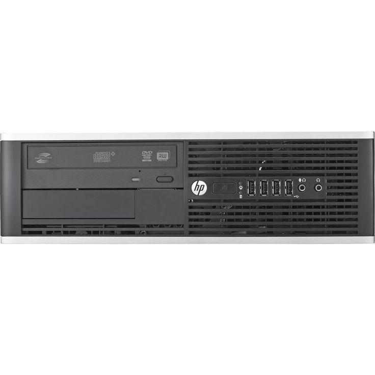 HP - Refurbished Desktop - Intel Core i3 - 4GB Memory - 500GB Hard Drive - Black