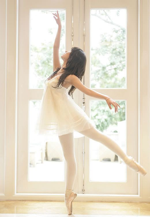 Secret of mine...I always wanted to be a ballerina when I was little. I would always try to stand on point. :)