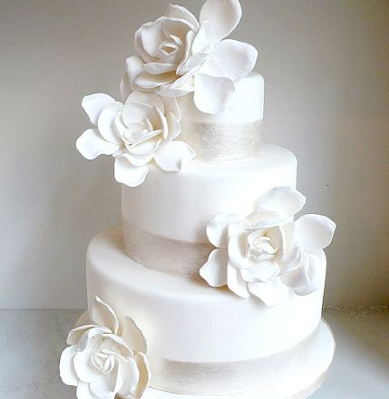 Lovin Sullivan Gardenias Wedding Cake653 best   Take The Cake   images on Pinterest   Marriage  Cakes  . Real Simple Wedding Cakes. Home Design Ideas