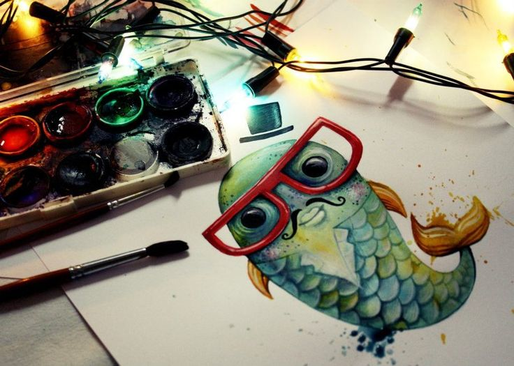 #carp #fish #illustration