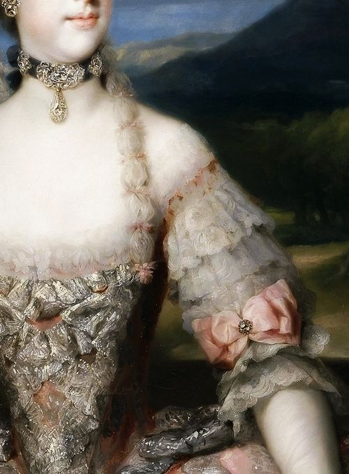 María Luisa of Parma, Princess of Asturias (Detail) Anton Raphael Mengs (1728–1779)