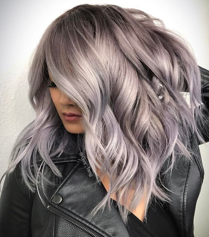 """5,942 Likes, 24 Comments - Guy Tang® (@guy_tang) on Instagram: """"HairBesties! Fifty shades of grey on one of my models @ajennalene_rush  using @guytang_mydentity…"""""""