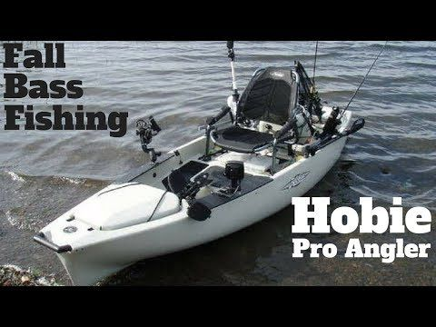 Hobie Pro Angler 14 in Action! (Fall Bass Fishing) - (More info on: https://1-W-W.COM/fishing/hobie-pro-angler-14-in-action-fall-bass-fishing/)