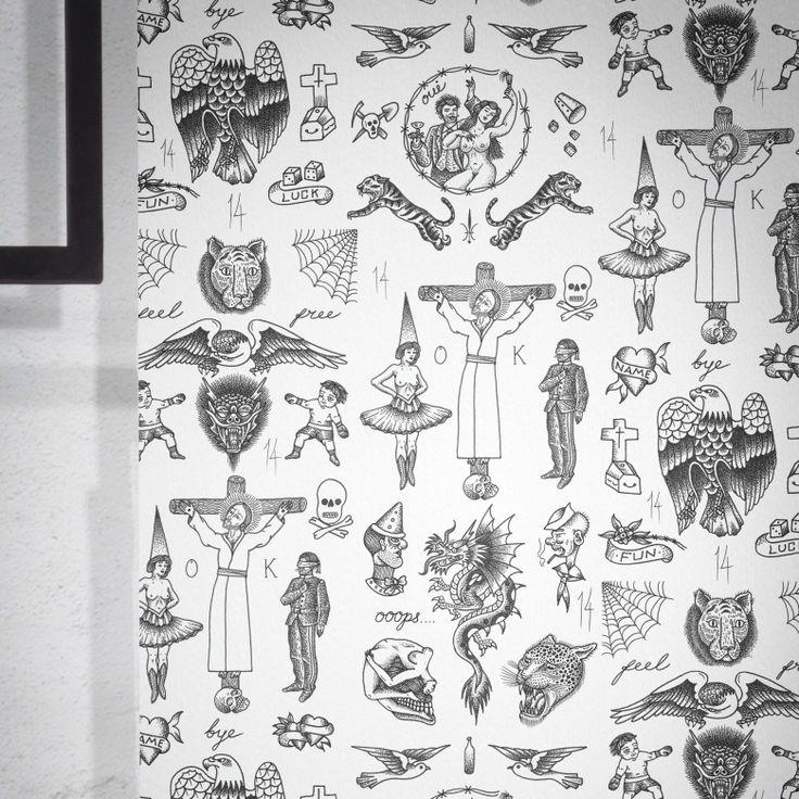 Tattoo Flash Wallpaper By Feathr: Les 135 Meilleures Images Du Tableau Feathr.com First
