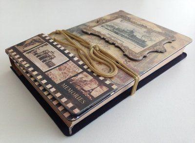 Vintage Scrap Hardcover Notebook: http://www.stationeryheaven.nl/notebook/hardcover/vintage-scrap-notebook/Eno-Greeting/memories