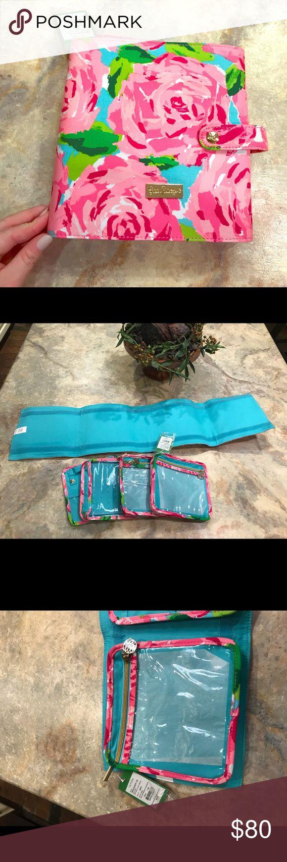 HPFI Lilly Pulitzer jewelry travel case hotty pink New with tags Lilly Pulitzer Bags Travel Bags