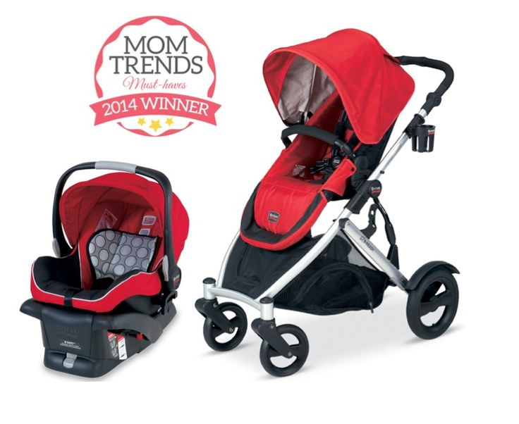 MomTrends Must Haves: Best Full-Sized Travel System - Britax B-Ready Stroller and B-Safe Infant Car Seat
