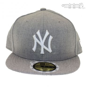 Photo NEW ERA - Casquette enfant 59 Fifty -NY Yankees - Gris #streetwear #mode #enfant #newera #casquette