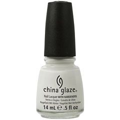 China Glaze® White On White Nail Polish - .5 oz.