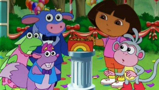 Dora the Explorer -World Adventure - 413-306-209 part 1/2 - video
