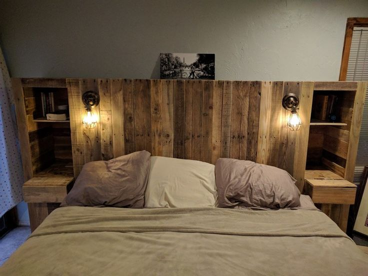 A lavish, royal bed is what you need to have a nice, comfortable sleep all night long. The use of pallet wood is what makes the bed a comfortable and stylish bed.Some very easy and simple steps can be flowed in order to make a stylish bed all by you
