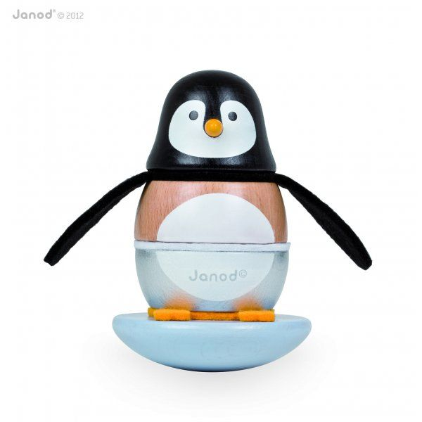 Penguin Wooden Stacking Toy