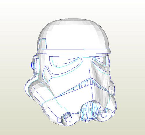 Fierfek's Star Wars Pepakura File Development